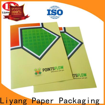 Liyang Paper Packaging presentation folders printing bulk supply sticker label
