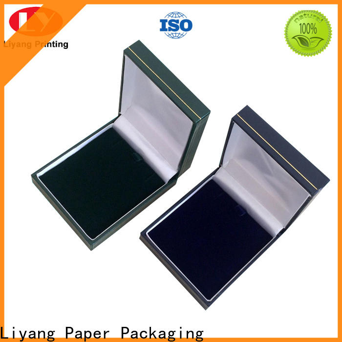 Liyang Paper Packaging bulk supply custom paper jewelry boxes best price for gift