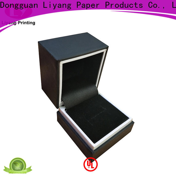 Liyang Paper Packaging custom paper jewelry boxes at discount for ring