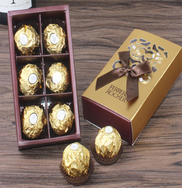 Wholesale Customized Empty Food Box Macaron and Chocolate Packaging Gift Box