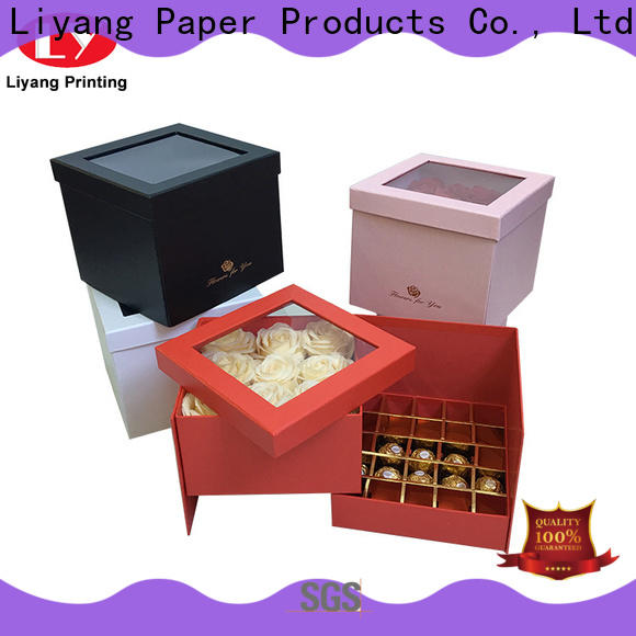 Liyang Paper Packaging high-quality food packaging box bulk supply for chocolate