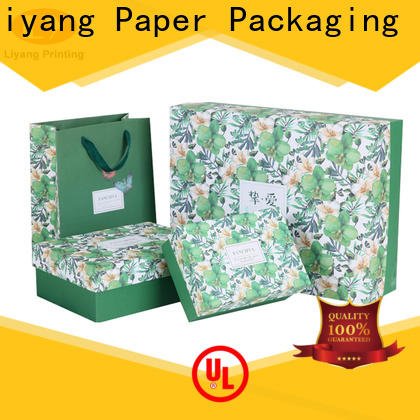 Liyang Paper Packaging best factory price luxury cosmetic box high quality for packaging