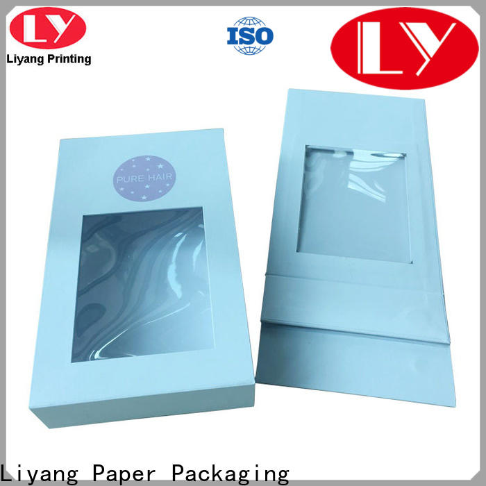Liyang Paper Packaging high quality gift box supplier quality assured for present