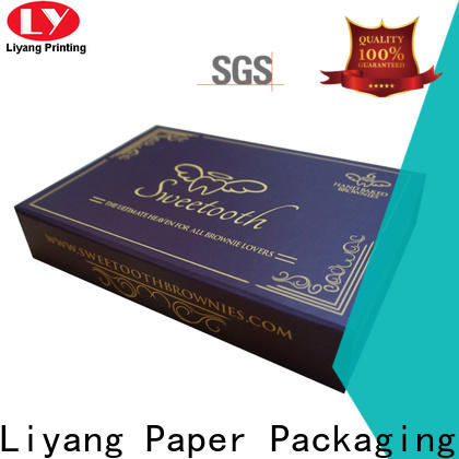 Liyang Paper Packaging high quality custom gift boxes quality assured for customization