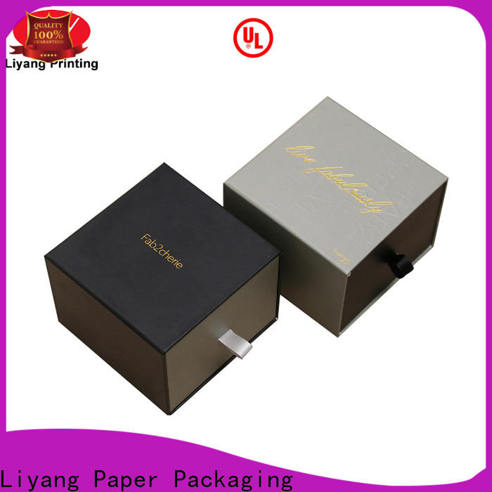 Liyang Paper Packaging special design decorative paper boxes fast delivery for present