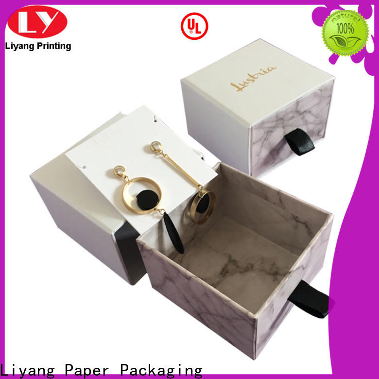 Liyang Paper Packaging special shape jewelry packaging boxes best price for gift