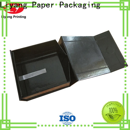 Liyang Paper Packaging gift box with lid wholesale for customization