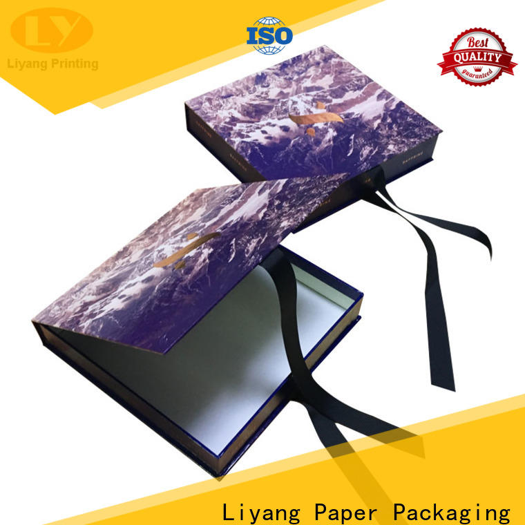 Liyang Paper Packaging latest clothing packaging box oem & odm bulk supply