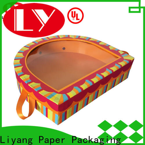 Liyang Paper Packaging high grade special box at discount for chocolate