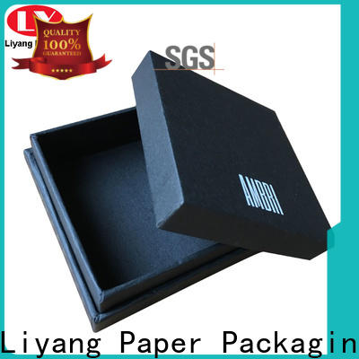 Liyang Paper Packaging custom paper jewelry boxes best price for gift