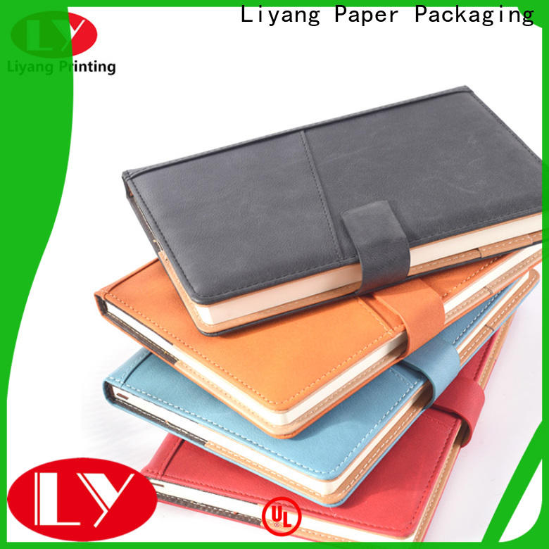 Liyang Paper Packaging plain paper notebook special offer free sample