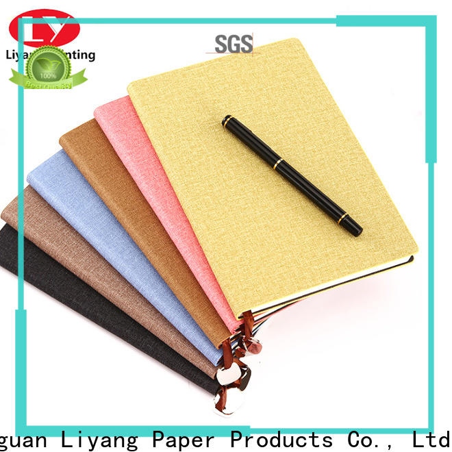 paper notebook factory price free sample