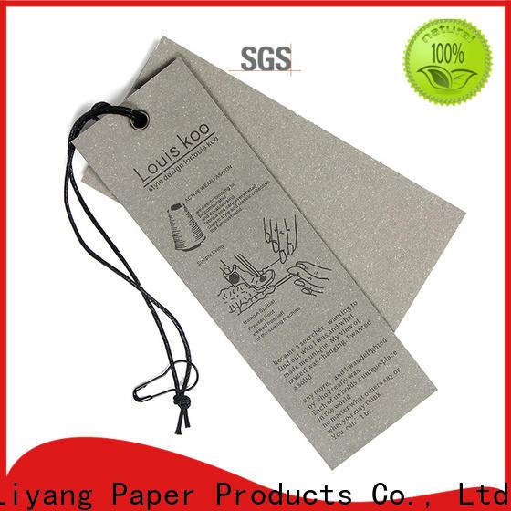custom design paper tag catalog short leadtime