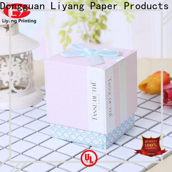 Liyang Paper Packaging special design gift box with lid quality assured best price