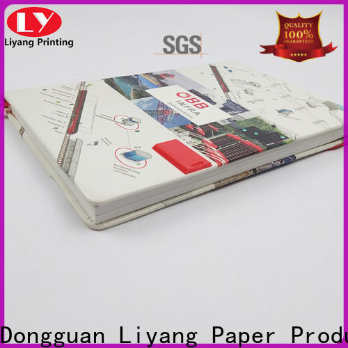 Liyang Paper Packaging cool notebooks special offer free sample
