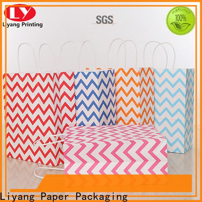 Liyang Paper Packaging environmental- friendly paper shopping bags bulk supply for girl