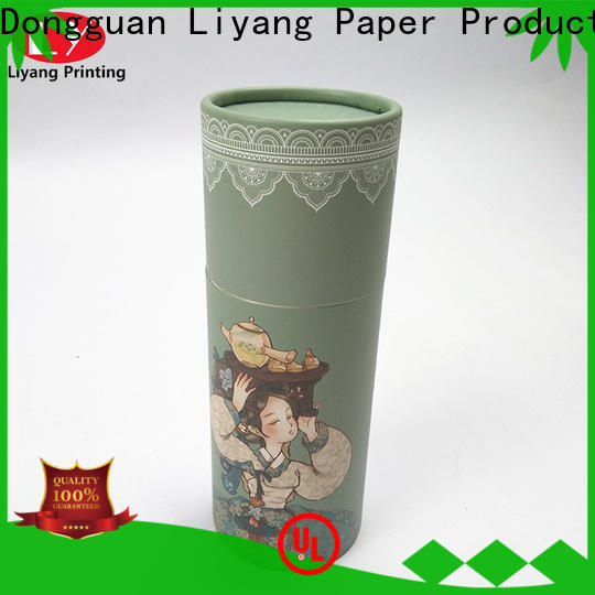Liyang Paper Packaging hot-sale small round box environmental-friendly fast delivery