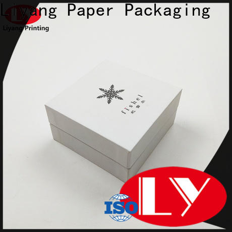 Liyang Paper Packaging custom paper jewelry boxes free sample for gift