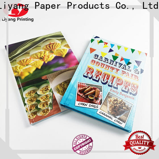 Liyang Paper Packaging book printing services factory direct supply fast delivery