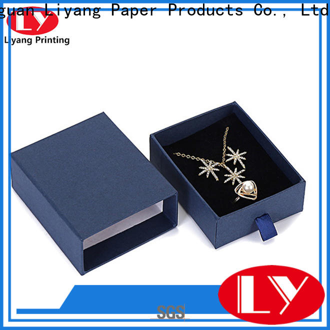 Liyang Paper Packaging jewelry packaging boxes at discount for necklace