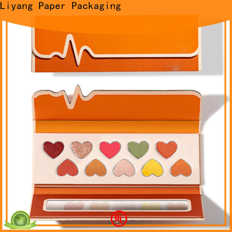 Liyang Paper Packaging durable cosmetic paper box high quality for lipstick