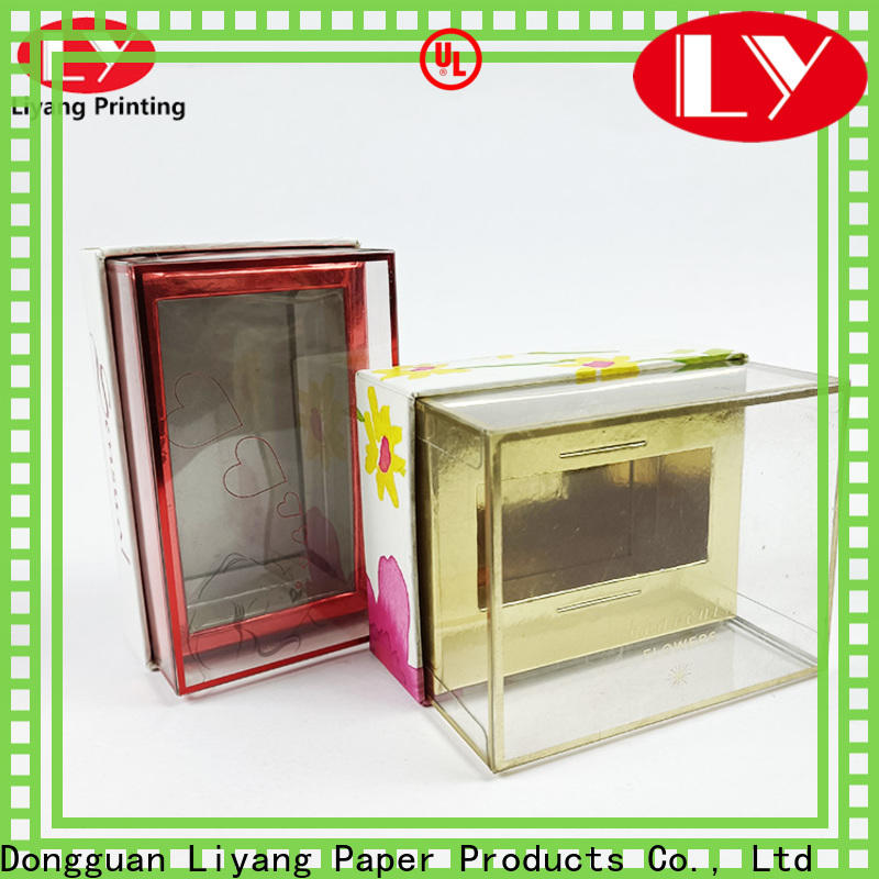 Liyang Paper Packaging best factory price cosmetic paper box bulk production free sample