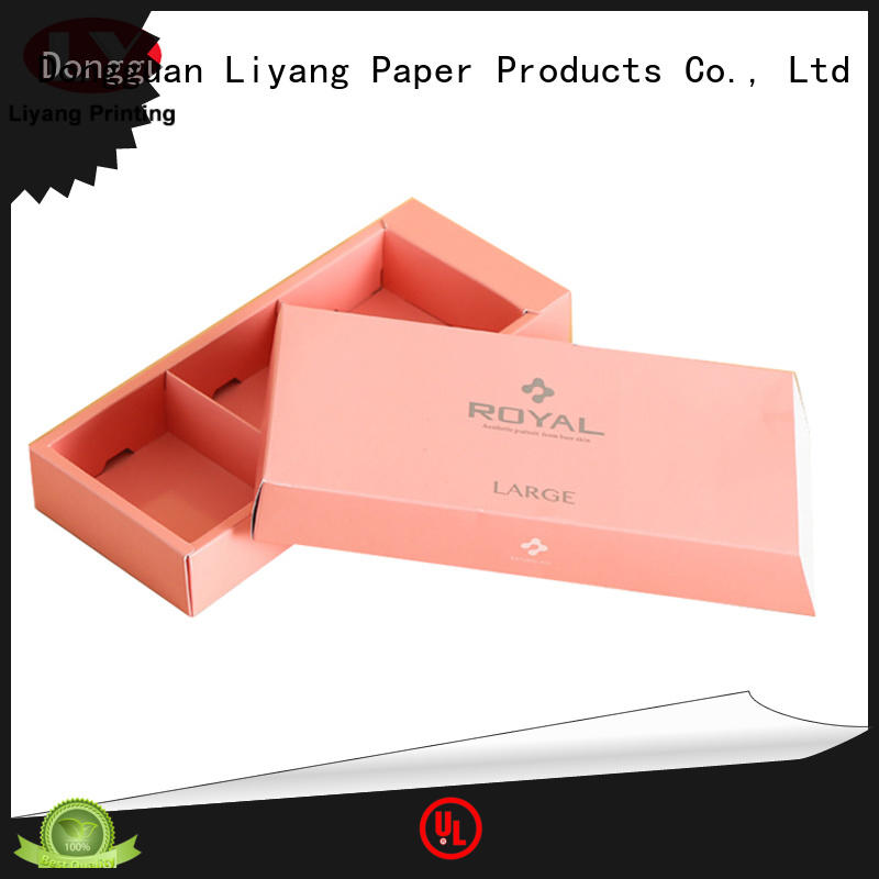printed cardboard food packaging customization service for biscuit