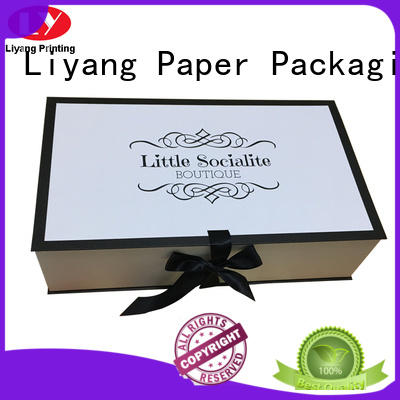 cardboard clothing gift boxes pack for gift Liyang Paper Packaging