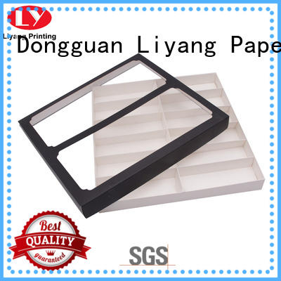 Liyang Paper Packaging decorative custom gift boxes logo for chocolate