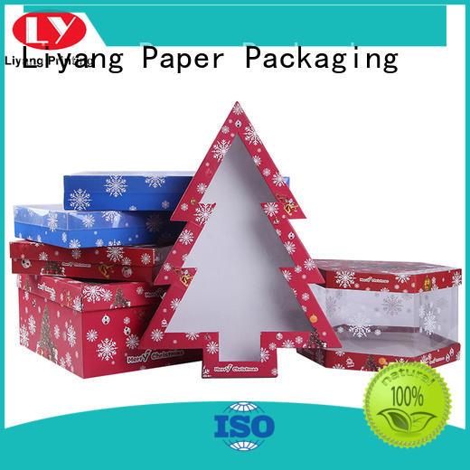 Liyang Paper Packaging shaped triangle shaped box print for packaging