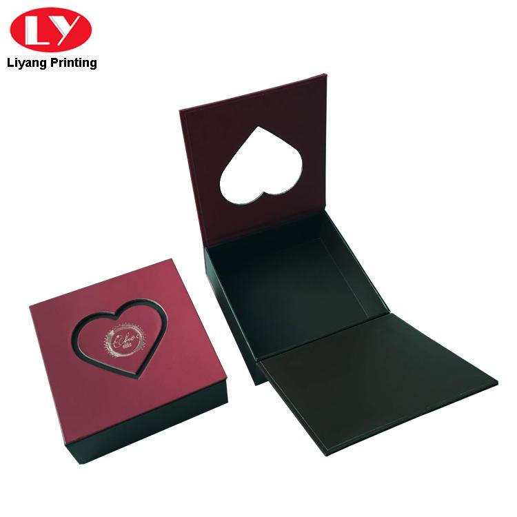 heart-shape custom food boxes free sample for chocolate Liyang Paper Packaging-1