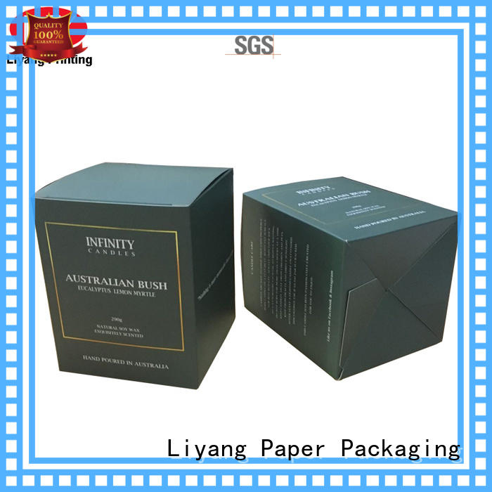 square candle box packaging factory price fast delivery for display