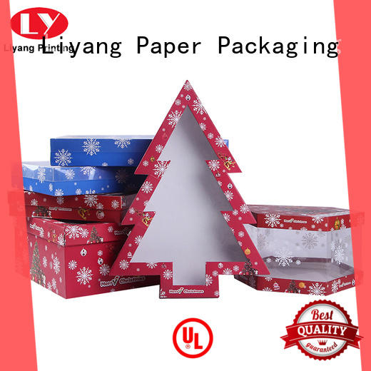Liyang Paper Packaging high quality special gift box fast delivery for christmas