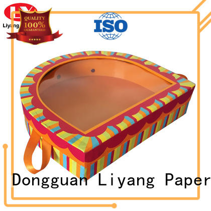Liyang Paper Packaging high quality custom shaped boxes fast delivery for chocolate