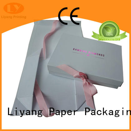 Liyang Paper Packaging rectangle gift box with lid pieces for marble