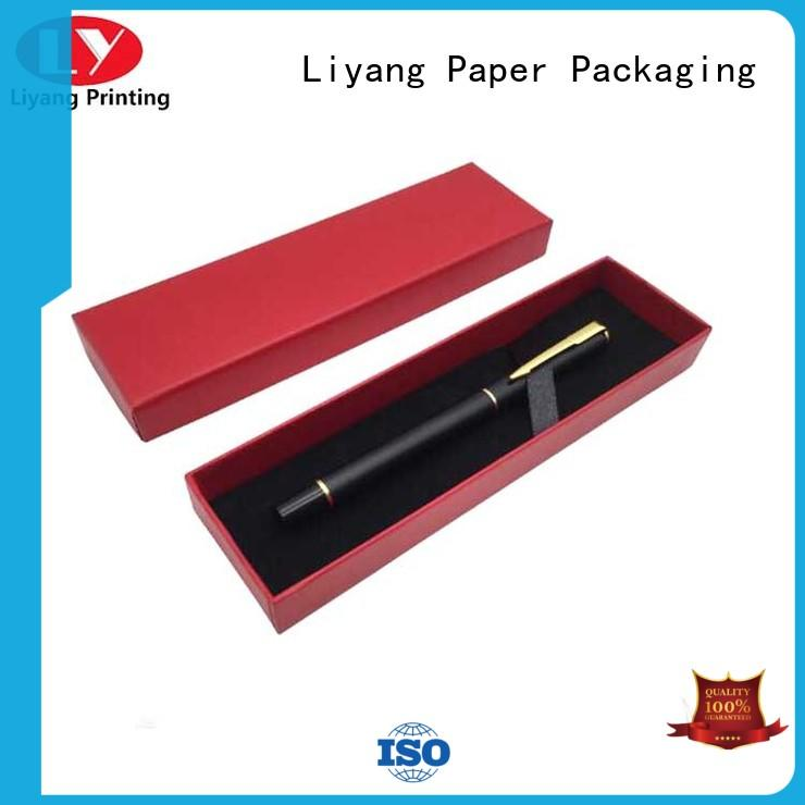 Liyang Paper Packaging pen box gift fast delivery