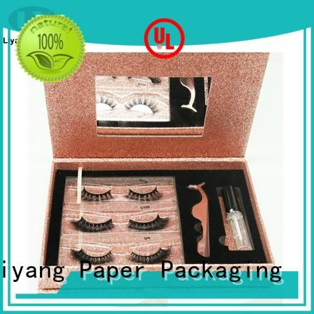 Liyang Paper Packaging color printed cosmetic box packaging suppliers board for brush