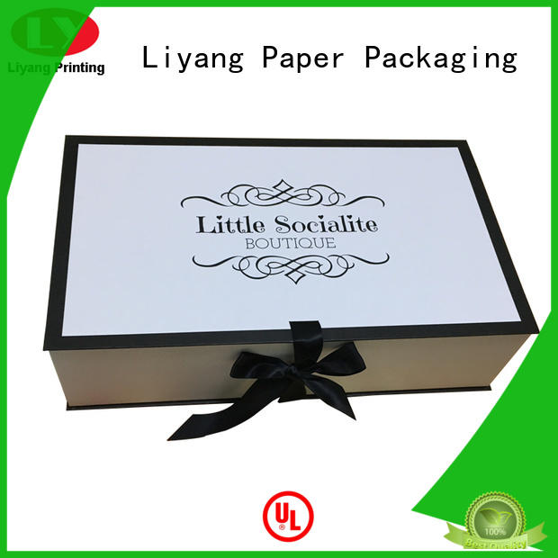 pillow wholesale clothing boxes pack for packaging Liyang Paper Packaging