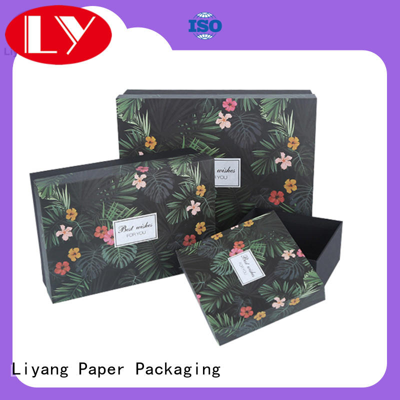 bow cardboard gift boxes fashion design for chocolate