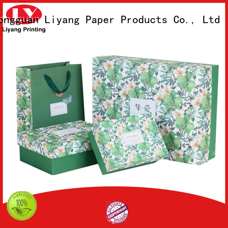 ivory cosmetic paper box paper for nail polish Liyang Paper Packaging