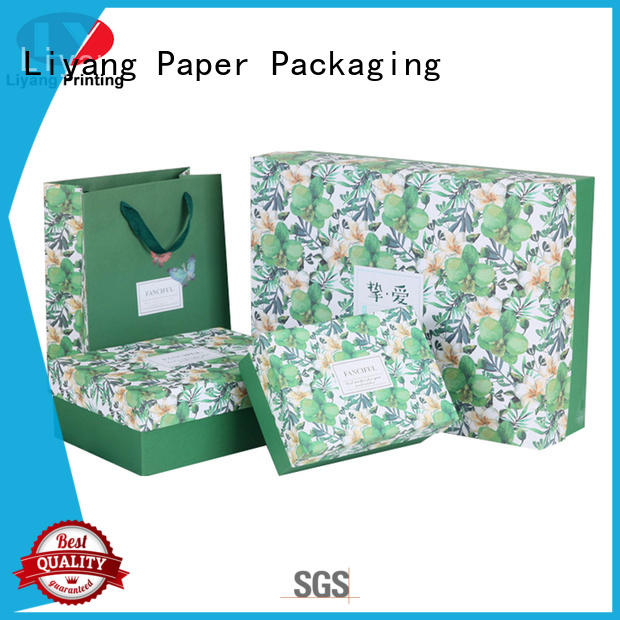 sales cosmetic box packaging high quality for makeup Liyang Paper Packaging