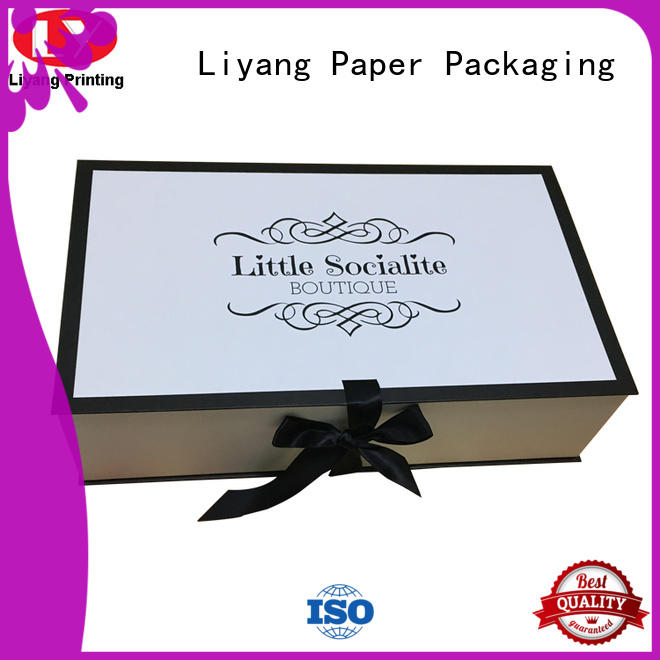 folding clothing boxes baby odm for wedding dress