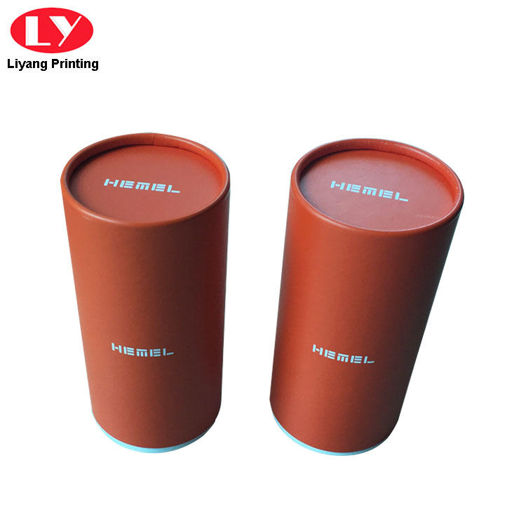 Custom Logo Paper Round Candle Packaging Box with Lid-3