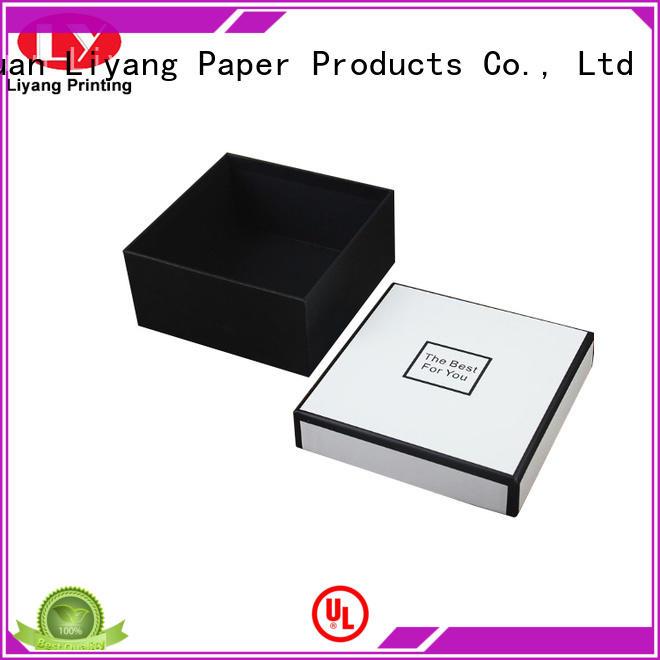 Liyang Paper Packaging flat luxury gift box packaging packaging for chocolate