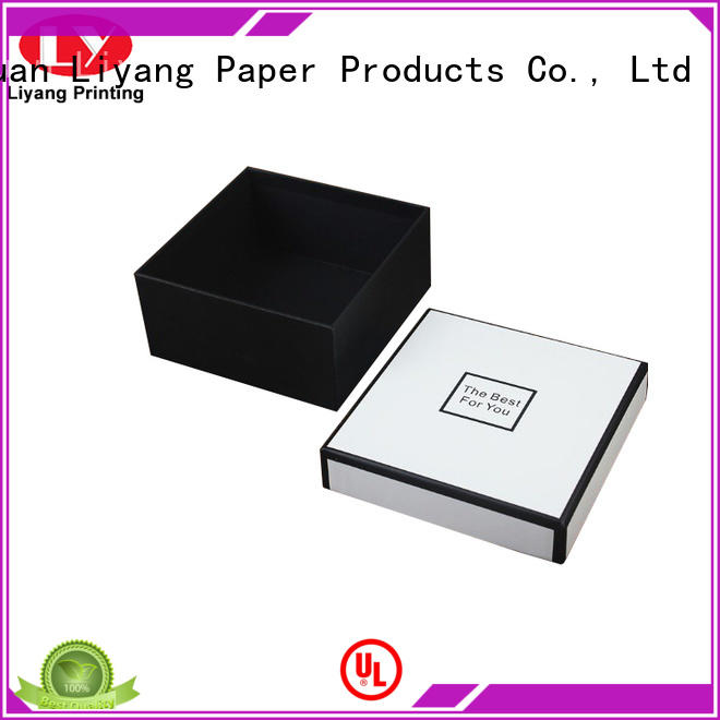 Liyang Paper Packaging flat luxury gift box packaging packaging for chocolate