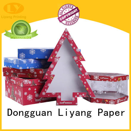 high quality shape box at discount for packaging Liyang Paper Packaging