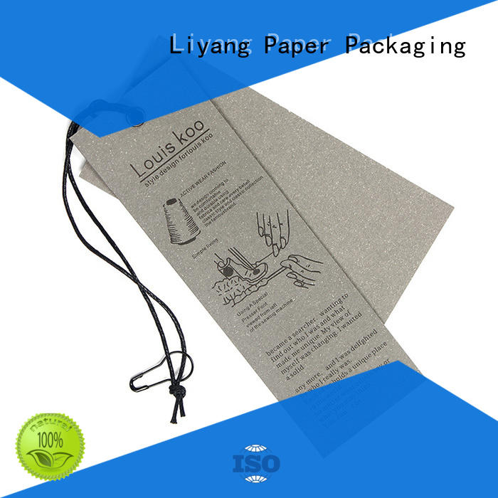 Liyang Paper Packaging OEM personalized tags factory direct supply factory