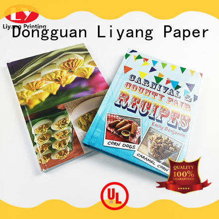 Liyang Paper Packaging book printing services wholesale fast delivery
