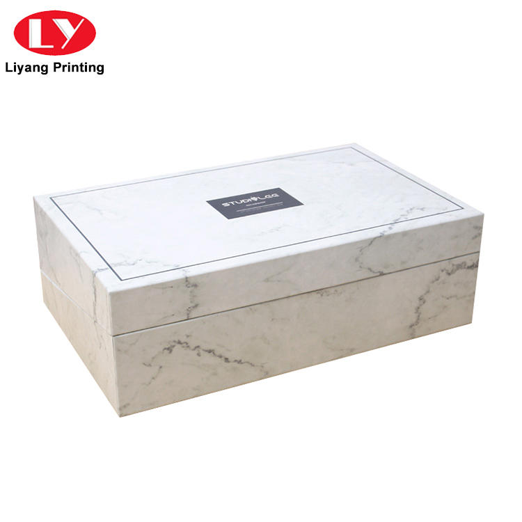 black cosmetic gift box ivory high quality for makeup-2