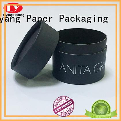 Liyang Paper Packaging logo round box packaging on-sale for bracelet